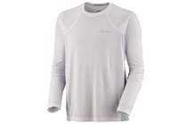 Columbia Men&#039;s Baselayer Bug Shield Long Sleeve Top white/beacon